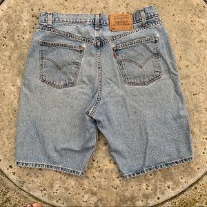 Levi's Orange Tab 550 Shorts